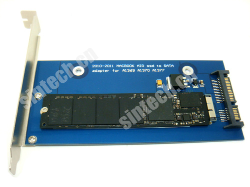 2010-2011 MACBOOK AIR A1369 A1370 A1377 ssd to SATA card with br